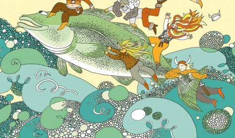 """""""Skok przez Bałtyk. Podróż w głąb morza"""", warsztaty z ilustratorką Natalią Uryniuk"""